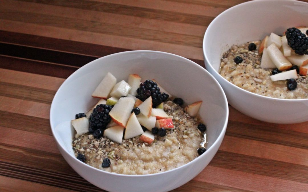 Amaranth and Millet Porridge