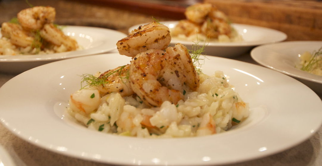 Prawn and Fennel Risotto