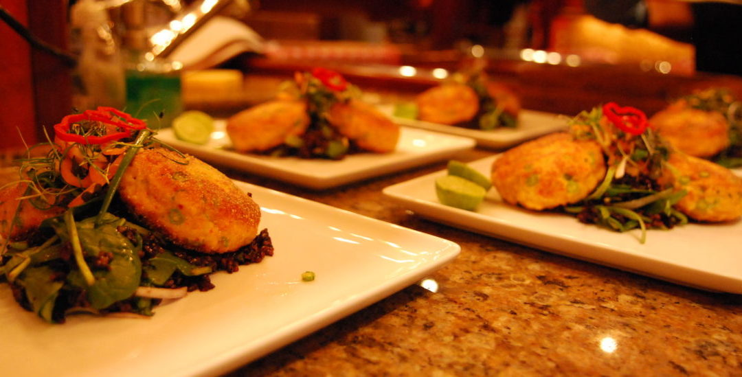 Thai chili fish cakes