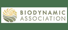 Biodynamic Association Logo & text
