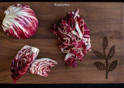 Radicchio Knife Skills